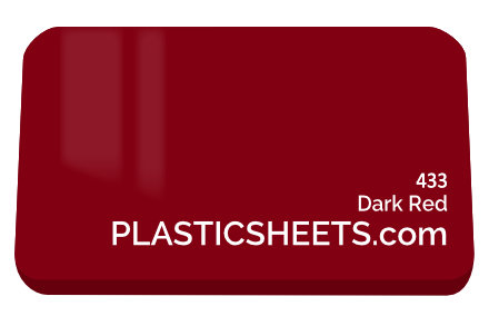 Dark Red Perspex Sheet