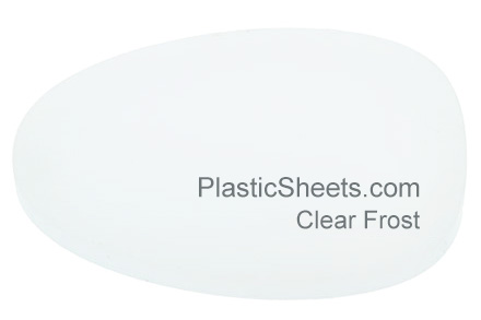 Clear Frosted Perspex Sheets