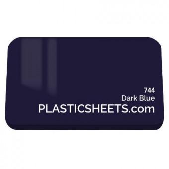 3mm Dark Blue Acrylic Sheet 210 x 297