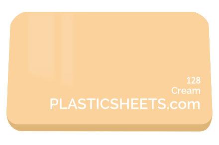 Cream Perspex Sheet