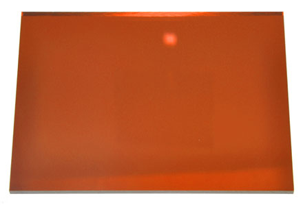 Orange Acrylic Mirror Sheet