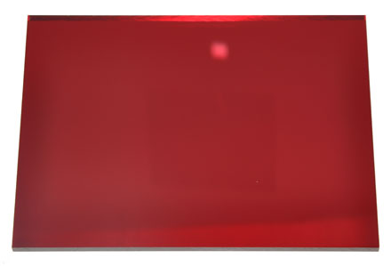 Red Acrylic Mirror Sheet