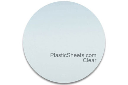 Clear Acrylic Discs Cut to Size