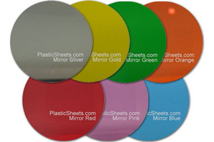 Mirror Acrylic Disc Cut To Size