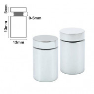 Stand Off Wall Mount 13mm x 13mm-Satin