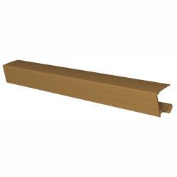 10mm Sheet Closure Brown