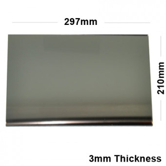 3mm Silver Acrylic Mirror Sheet 297 x 210