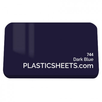 3mm Dark Blue Acrylic Sheet 2040 x 3040