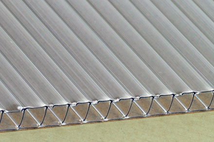 10mm Clear Twin Wall Cut to Size