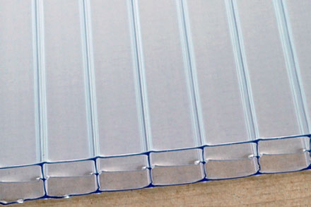 16mm Clear Triple Wall Cut to Size