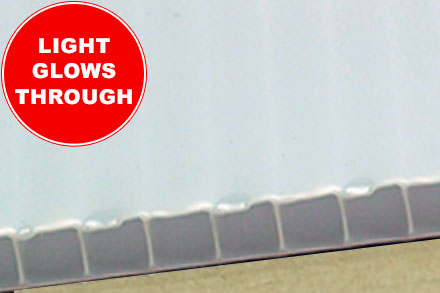 10mm Opal Twin Wall Cut to Size